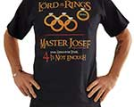 MOTTO-SHIRT LORD OF THE RINGS